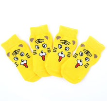 Traction Control Indoor Rubber Soled Socks