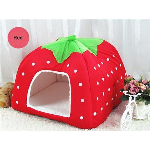 Soft Strawberry Dog Kennel