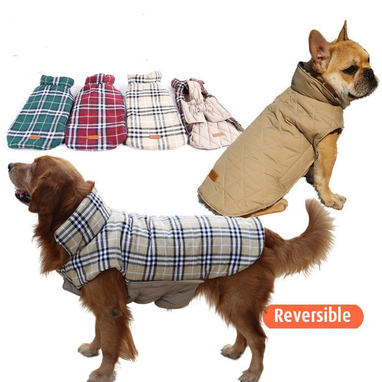 Designer Waterproof Reversible Dog Jacket