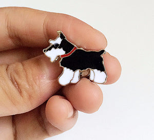 Cartoon Dog Metal Enamel Brooch Pin