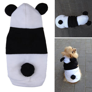 Fleece Panda Pet Costume
