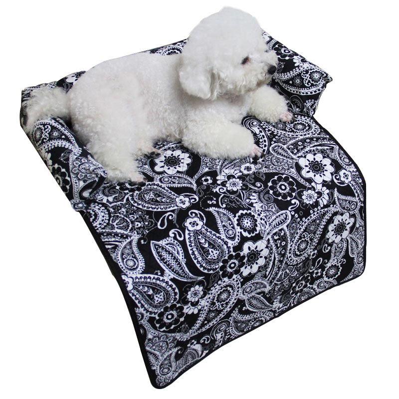 Paisley Pet Bed Furniture Cover