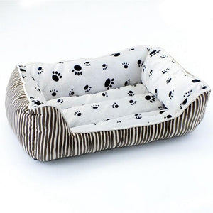 Plush Rectangular Dog Bed