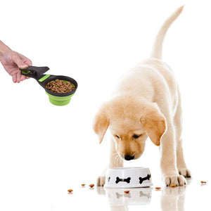 Collapsible Pet Food Scoop
