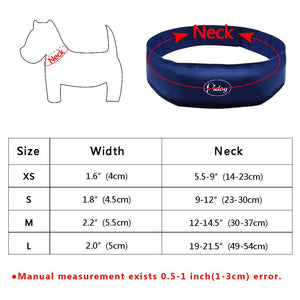 Cooling Dog Collar For Hot Weather