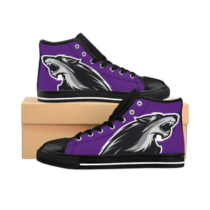Wolves of Amarok High-top Sneakers (Purple)