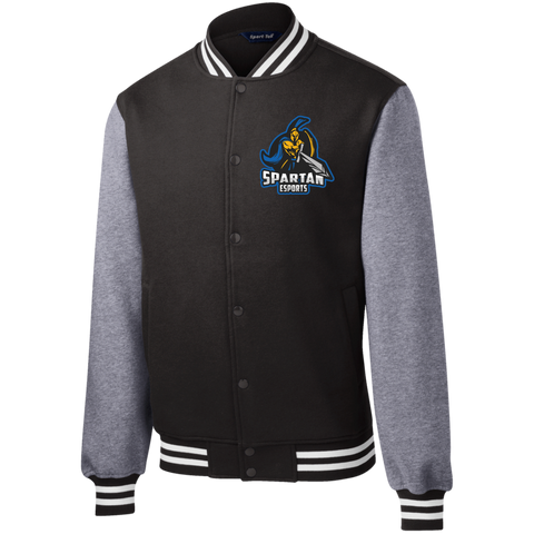 Esports at SJSU Fleece Letterman Jacket