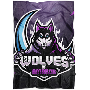 Wolves of Amarok Blanket