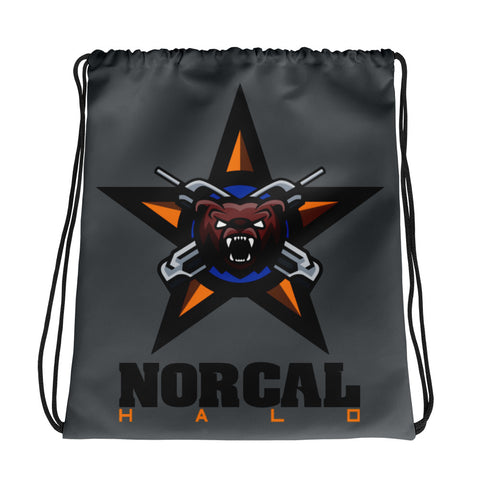 NorCal Halo Drawstring Bag