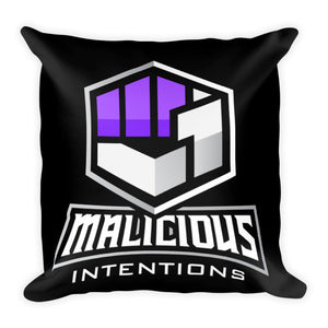 Malicious Intentions Pillow