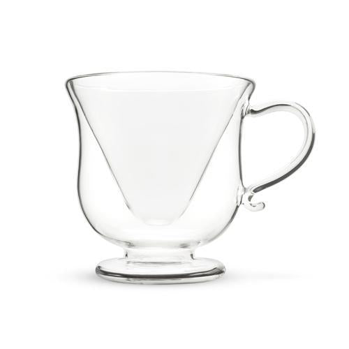 Mar-tea-ni Double Wall Glass Tea Cup