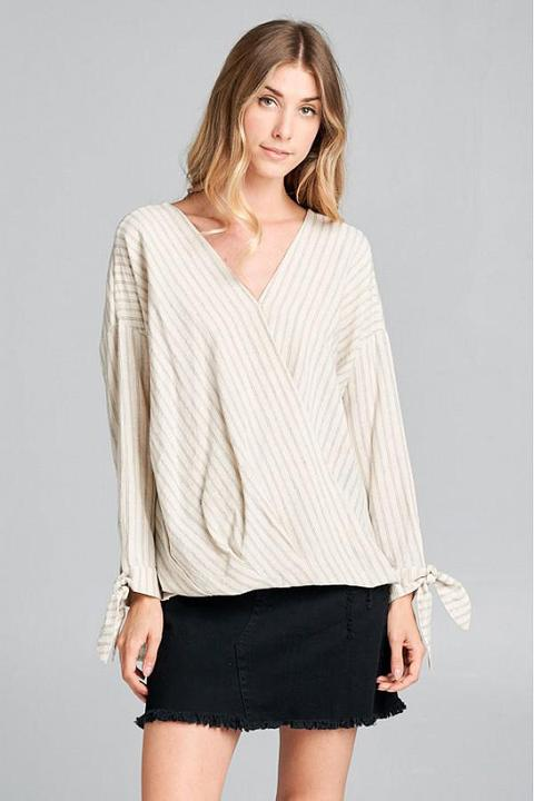 Twisted Blouse Top