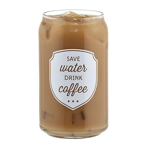 Save Water Iced Coffee Cup