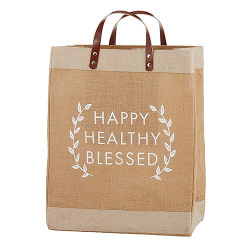 Happy Healthy Blessed Market Tote