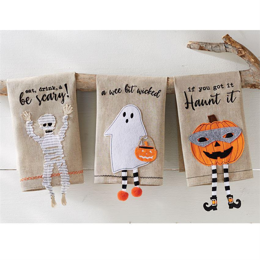 Halloween Dangle Towel