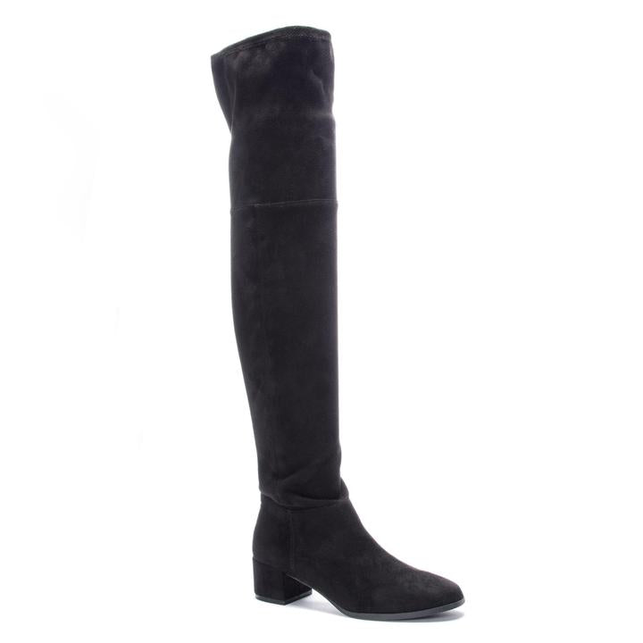 Felix Over the Knee Black Boot