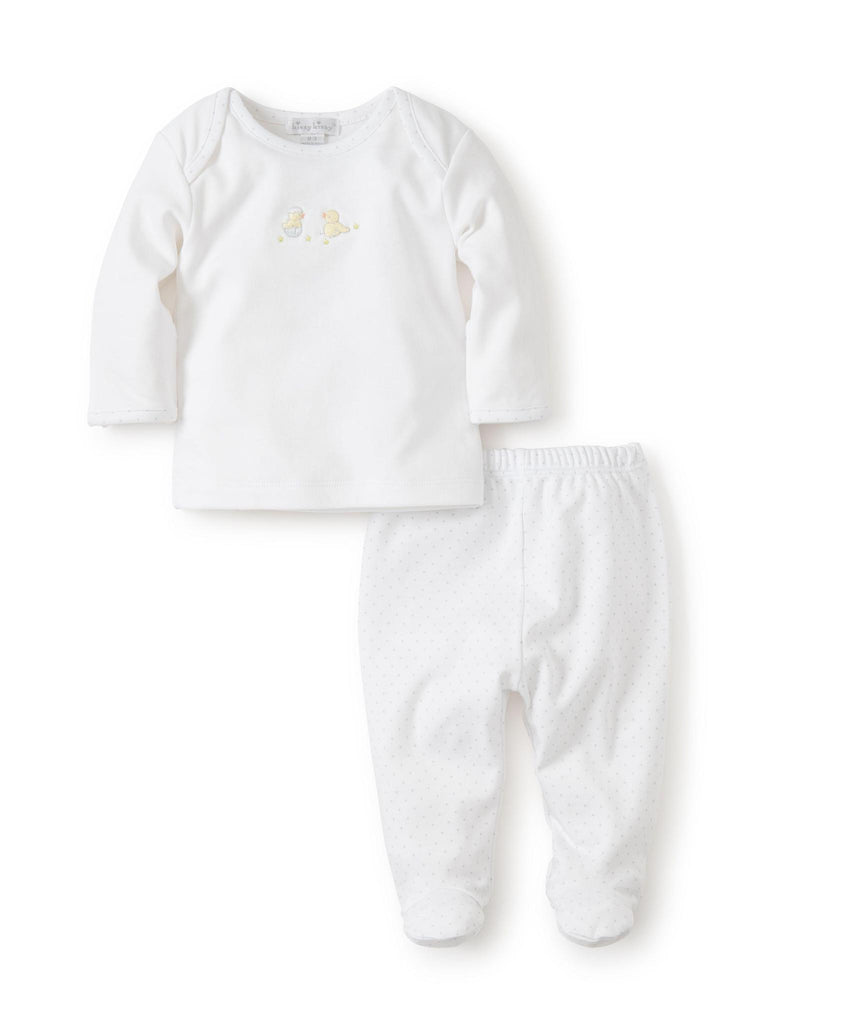 Hatchling Footed Pant Set