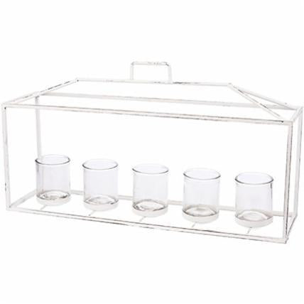 Horizontal Lantern Votive Holder