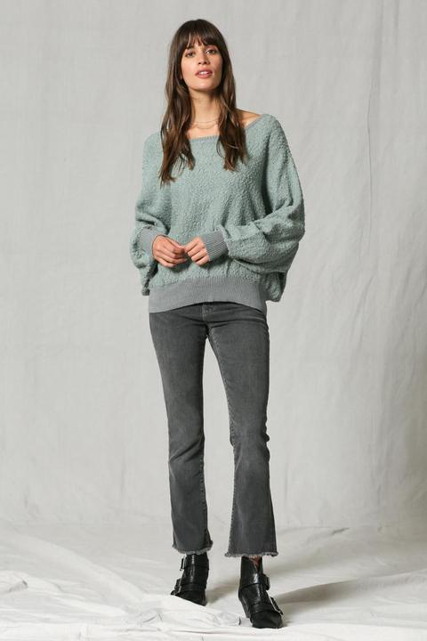 Slouch Teddy Sweater