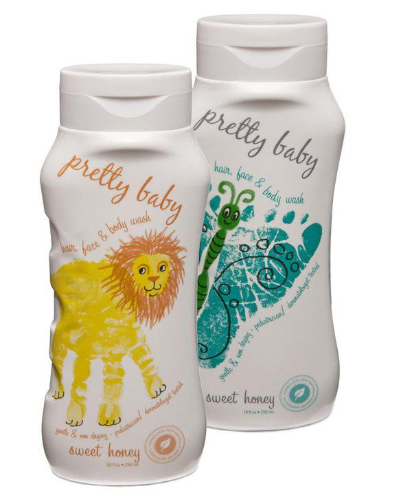 Pretty Baby Sweet Honey Hair Face & Body Wash