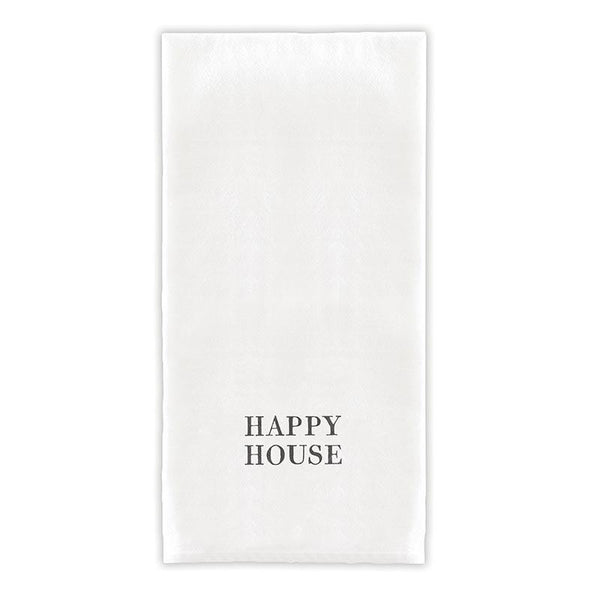Happy House Tea Towel