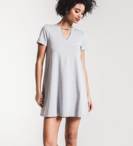 The Front Cutout Tee Dress