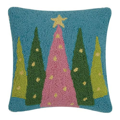 Merry & Bright Trees Pillow