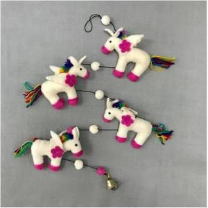Felt Unicorn Garland