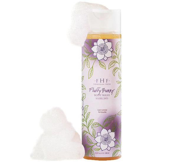 Fluffy Bunny Body Wash & Bubble Bath