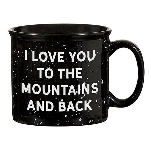 I Love You Mountains Mug