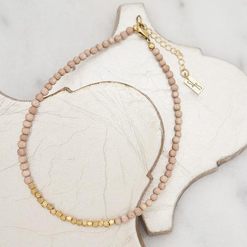 Golden Row Rose Choker