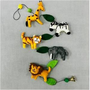 Felt Jungle Garland