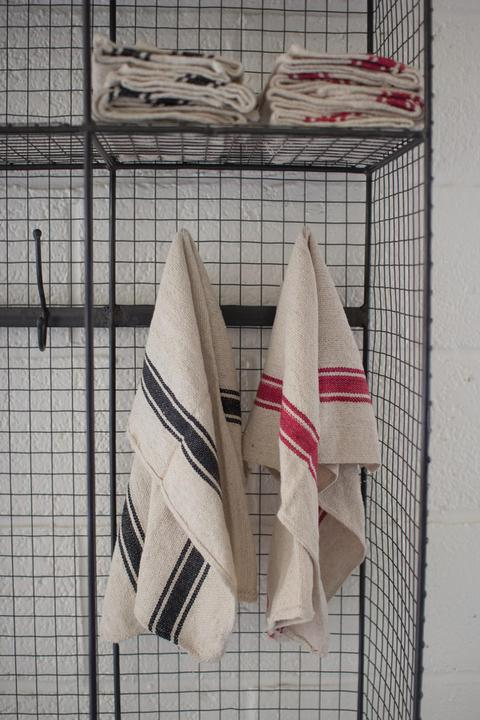 Cotton Stripe Kitchen Towel