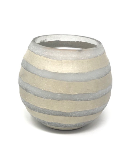 Orb Stripe Candle