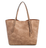 Classic 2in1 Taupe Shopper Bag
