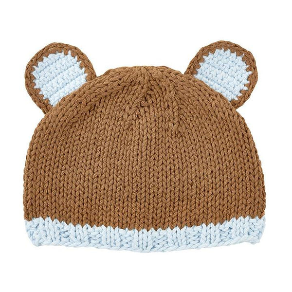 Brown Bear Newborn Cap