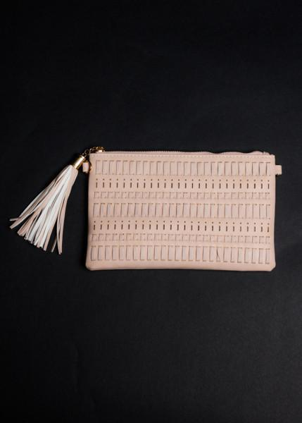Essential Woven Clutch