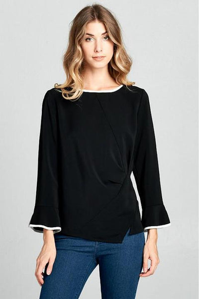 Luxe Lines Blouse
