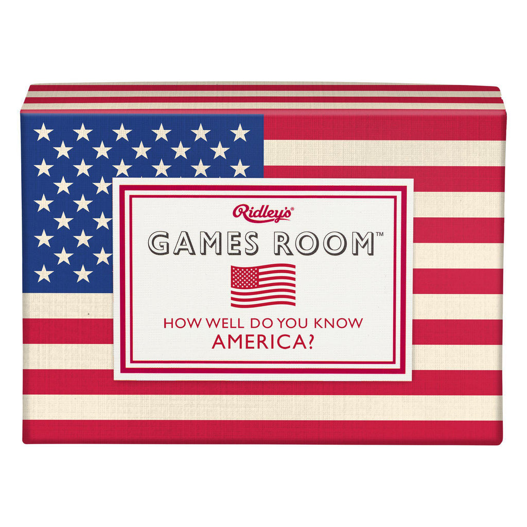 Classic How Well Do You Know America Trivia Game