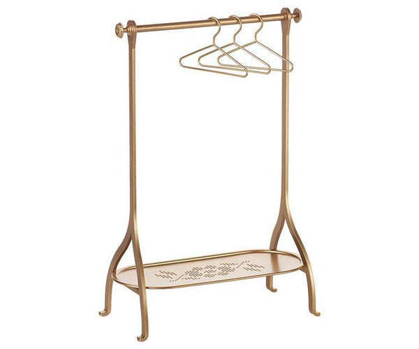Gold Metal Clothes Rack