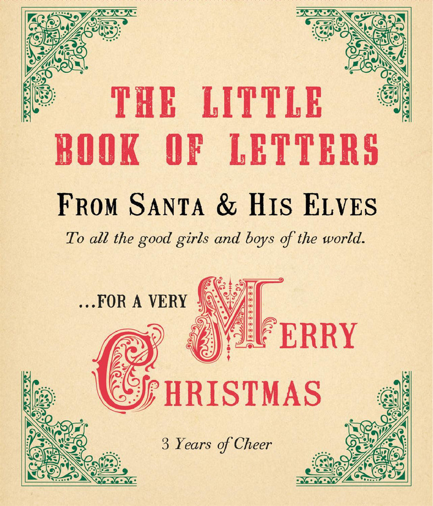 The Little Book of Letters - From Santa & His Elves