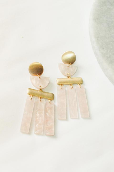 Sasha Pinky Party Earring