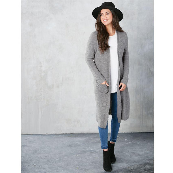 Anniston Grey Duster