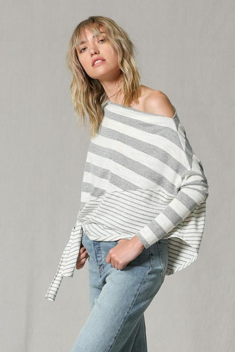 French Stripes Top