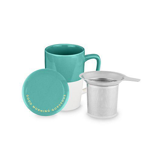 Delia Gorgeous Tea Mug & Infuser