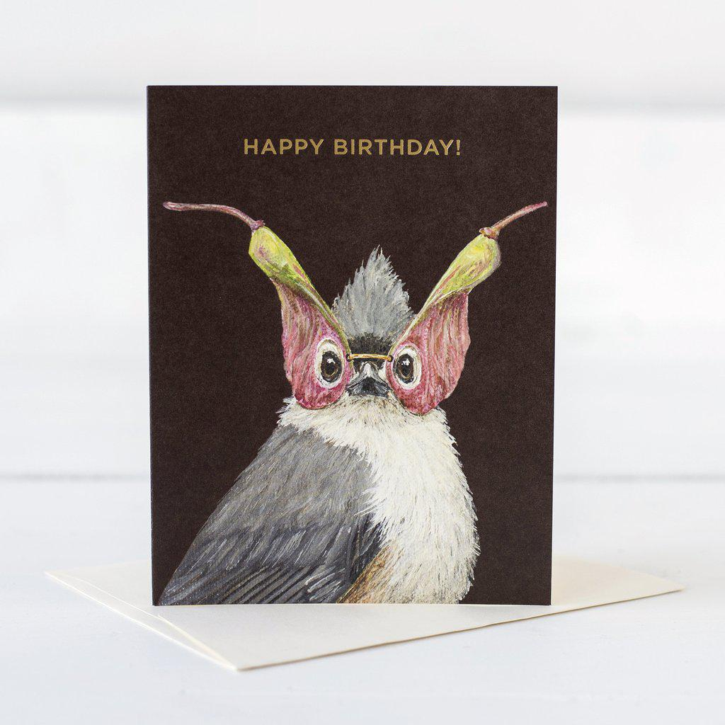 Birthday Titmouse Card