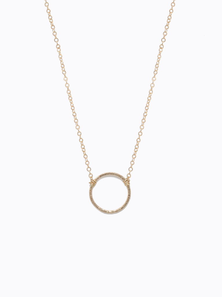 Circle Floating Shapes Necklace