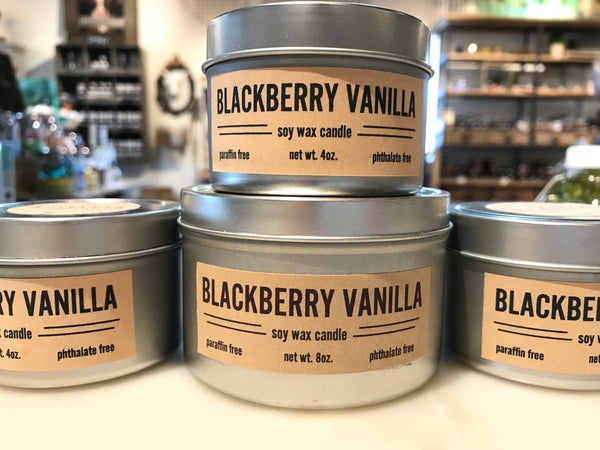 Blackberry Vanilla Candle
