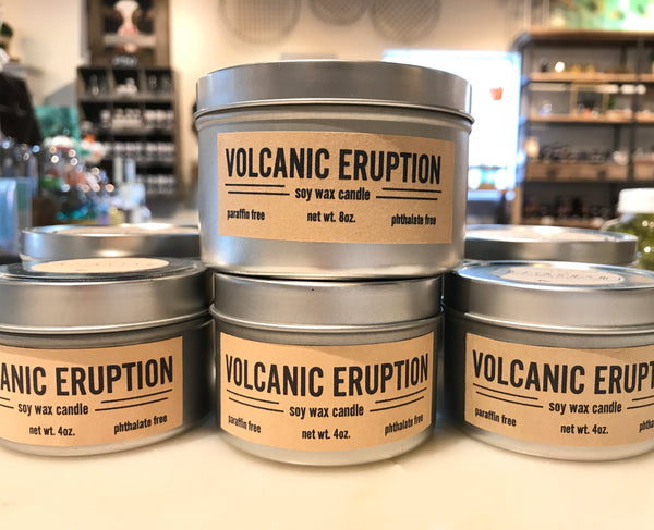 Volcanic Eruption Candle