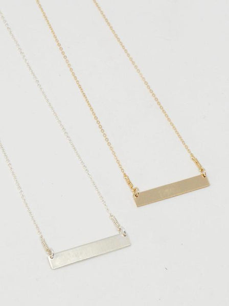 Be Still Horizon Necklace